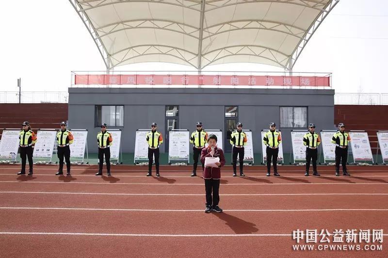 """江苏盐城:春风校园行丨""""安全知识""""送教进港城实小"""