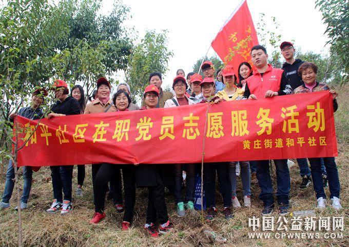 安徽蚌埠:蚌山区黄庄街道和平社区开展在职党员志愿服务活动