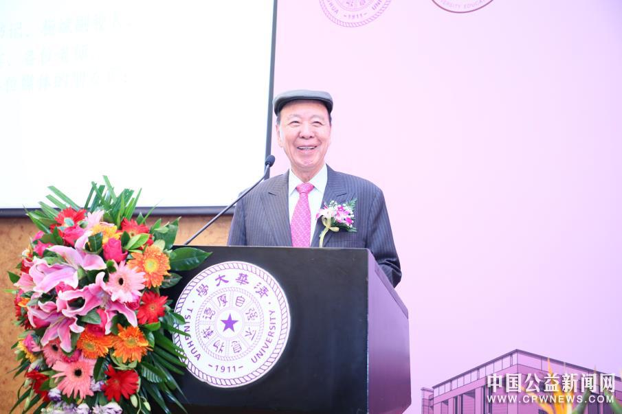 香港嘉华集团主席吕志和博士捐资2亿元人民币 建设清华大学生物医学馆