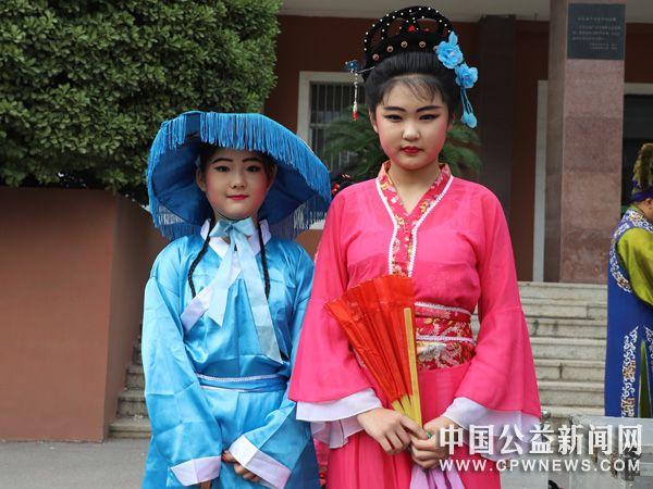 广饶县大王镇中心初中传统文化进校园活动