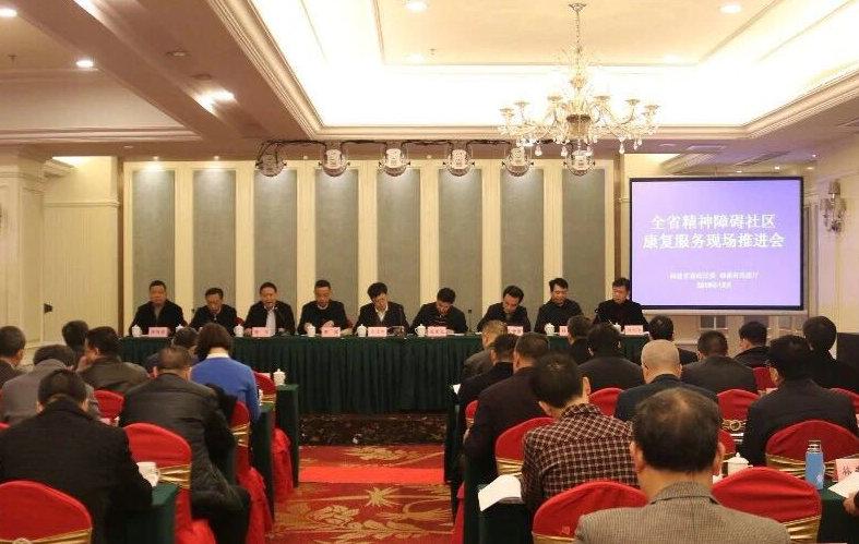 全国精神障碍社区康复服务工作推进会在湘召开