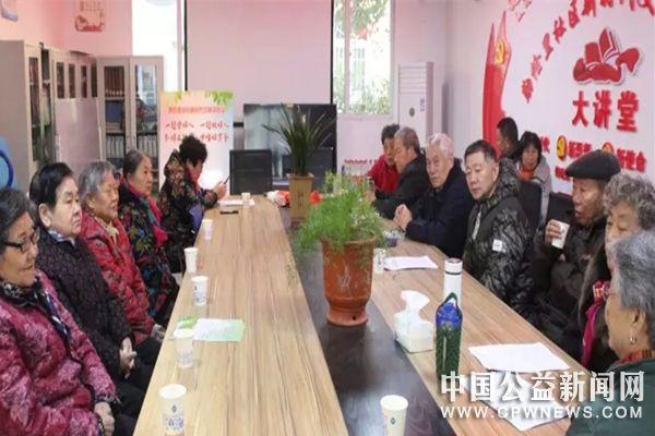 """安徽蚌埠:勤俭里社区开展""""身边好人事迹巡讲""""宣讲活动"""