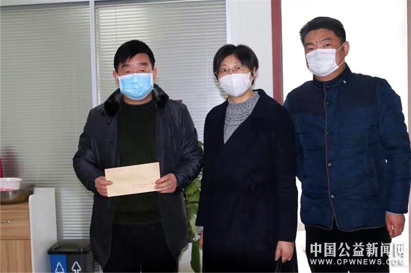 镇江新区:爱心企业和爱心人士捐款捐物慰问疫情防控守门人