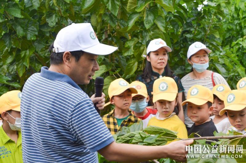 保护桑树种质资源  传播优秀蚕桑文化