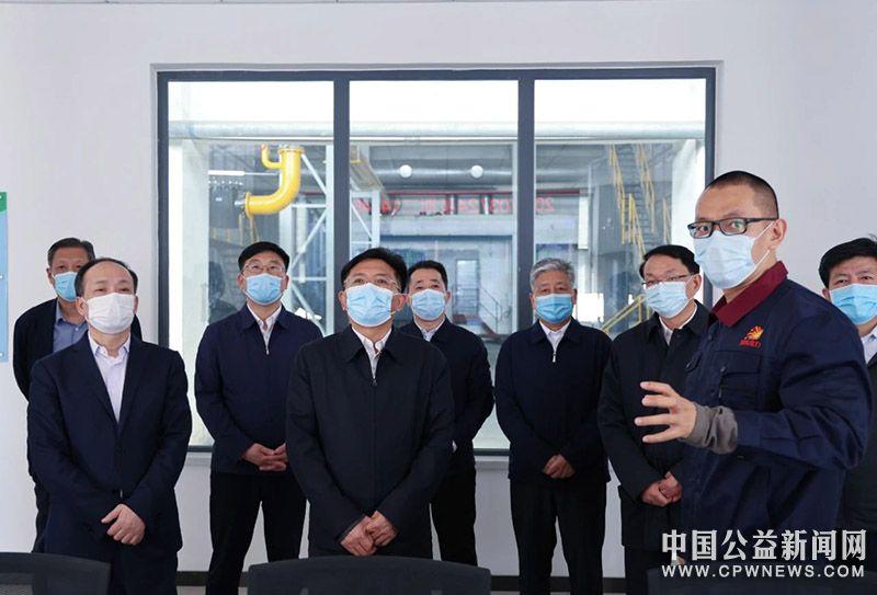 生态环境部党组书记孙金龙赴天津市调研生态环境保护工作