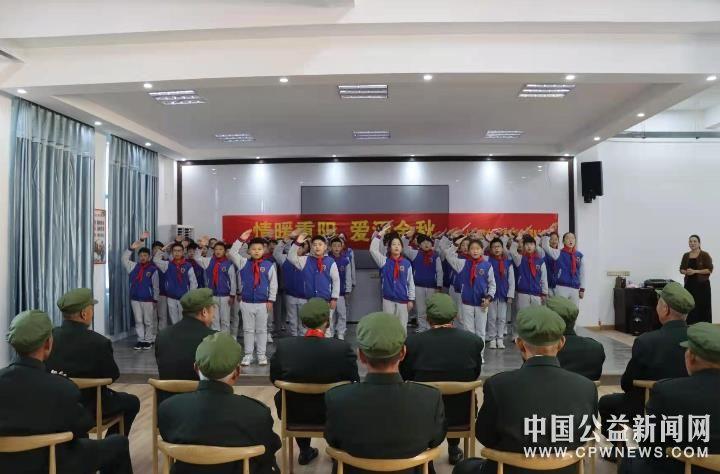 安徽砀山:九九重阳节  爱暖光荣院